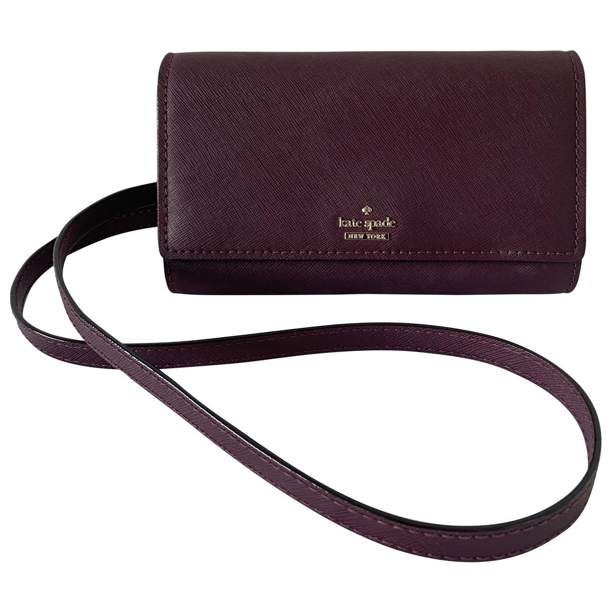 Kate Spade \N Purple Leather handbag for Women \N
