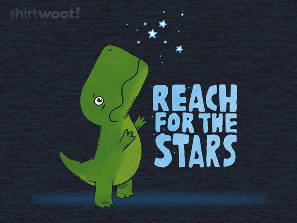 Reach For The Stars - Heather Remix T Shirt
