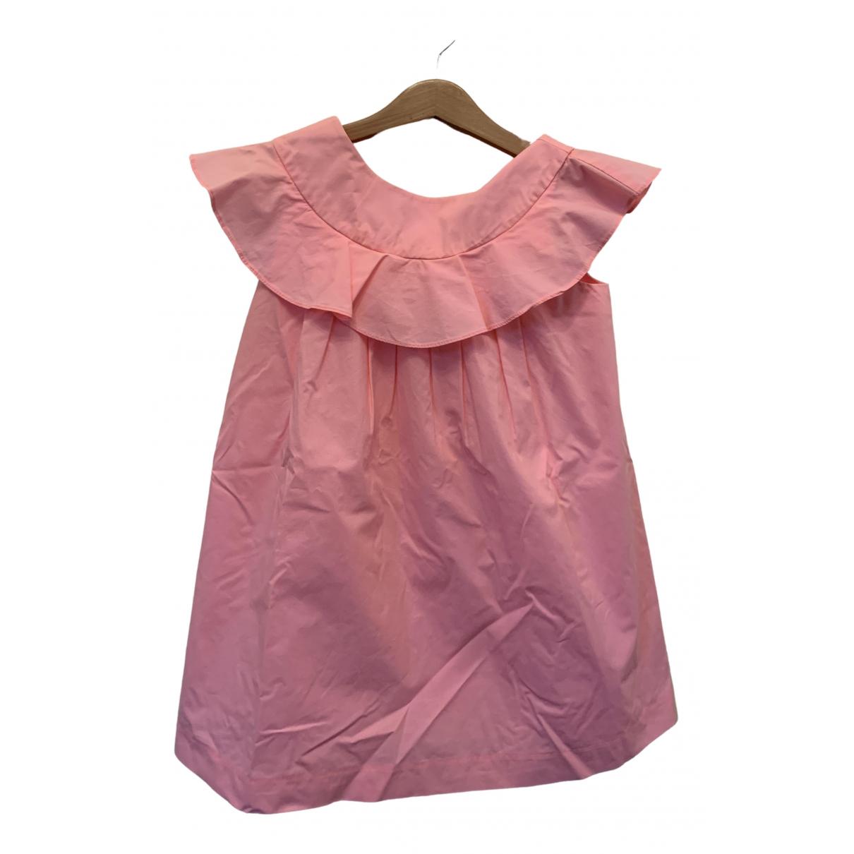Jacadi - Robe    pour enfant en coton - rose