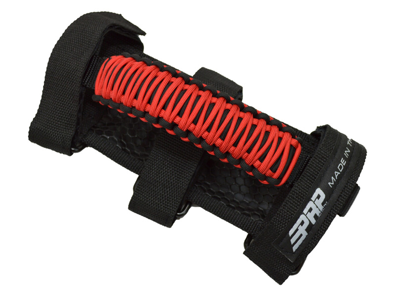 Paracord Grab Handle Red PRP Seats H56-R