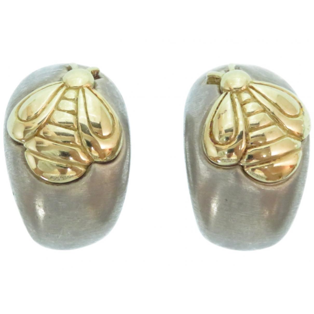 Hermès \N Silver Silver Earrings for Women \N