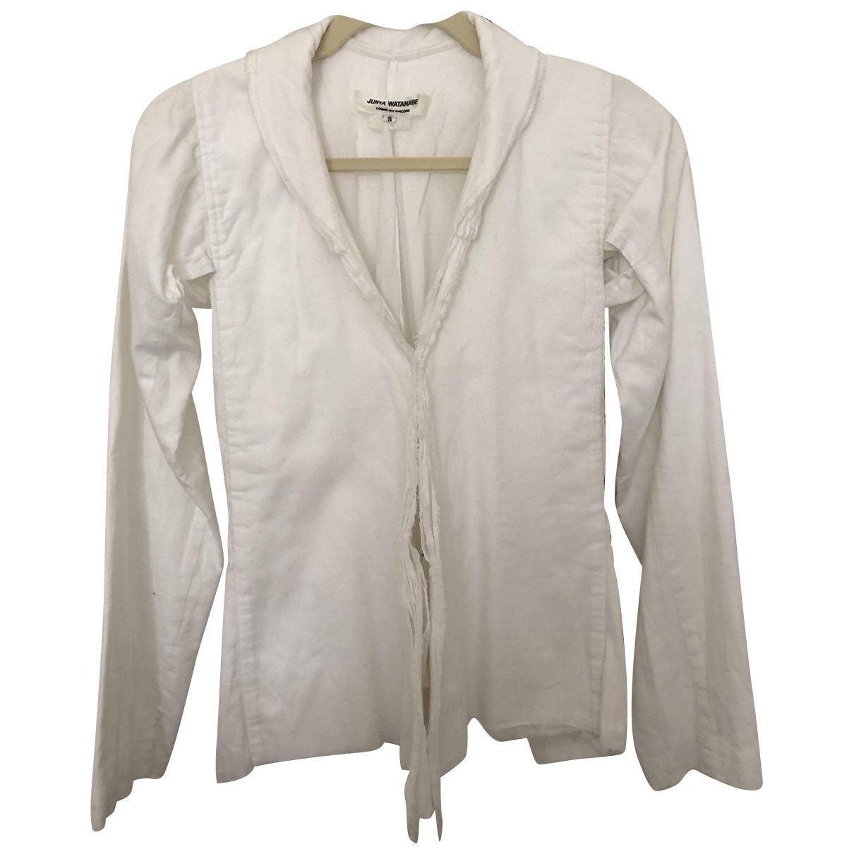 Junya Watanabe - Veste   pour femme en coton - blanc