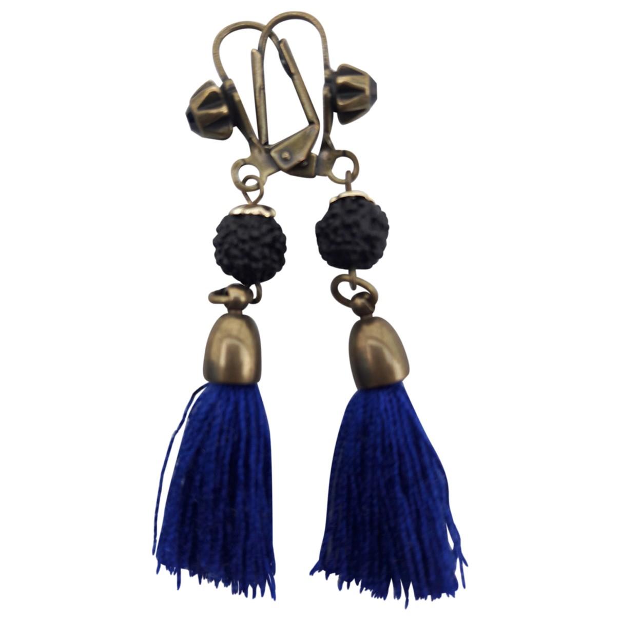 Isabel Marant - Boucles doreilles   pour femme en metal - bleu