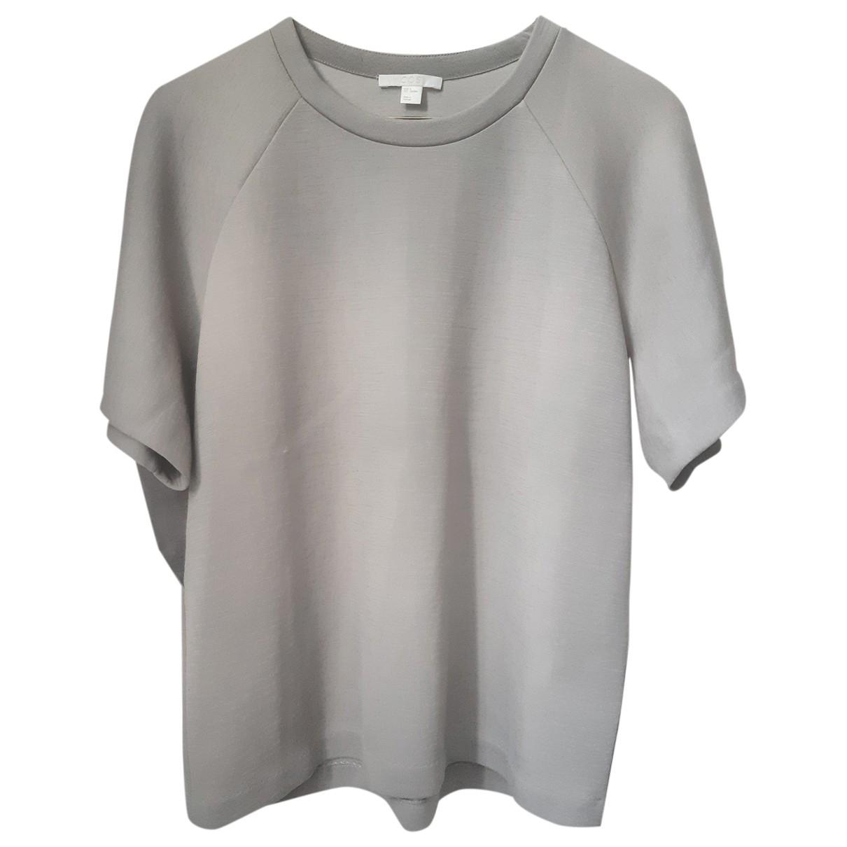 Cos - Top   pour femme en laine - gris