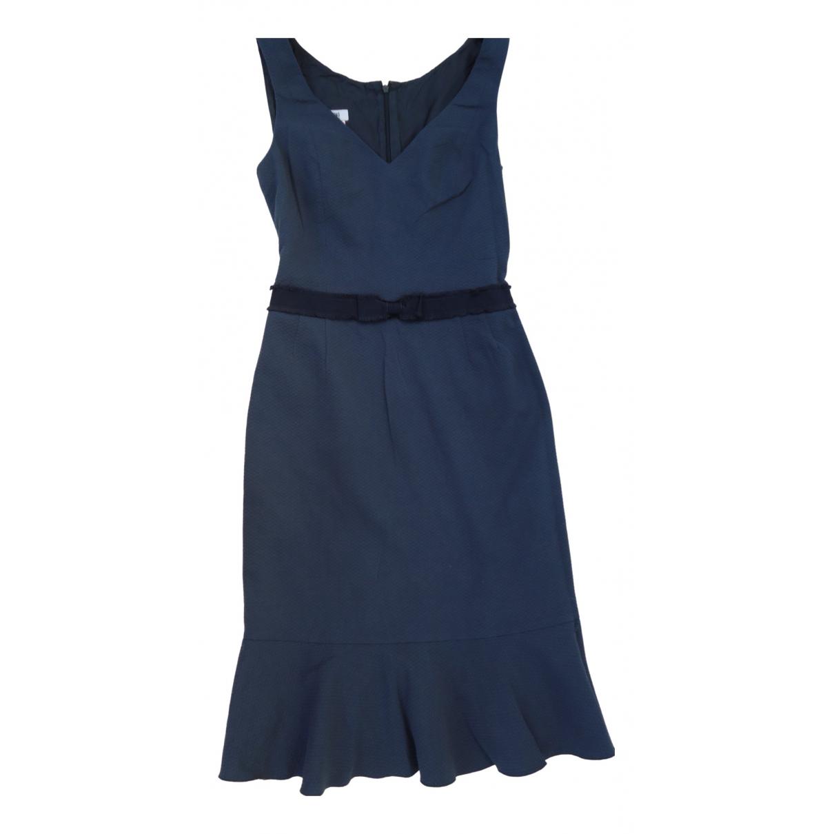 Moschino Cheap And Chic - Robe   pour femme en coton - bleu