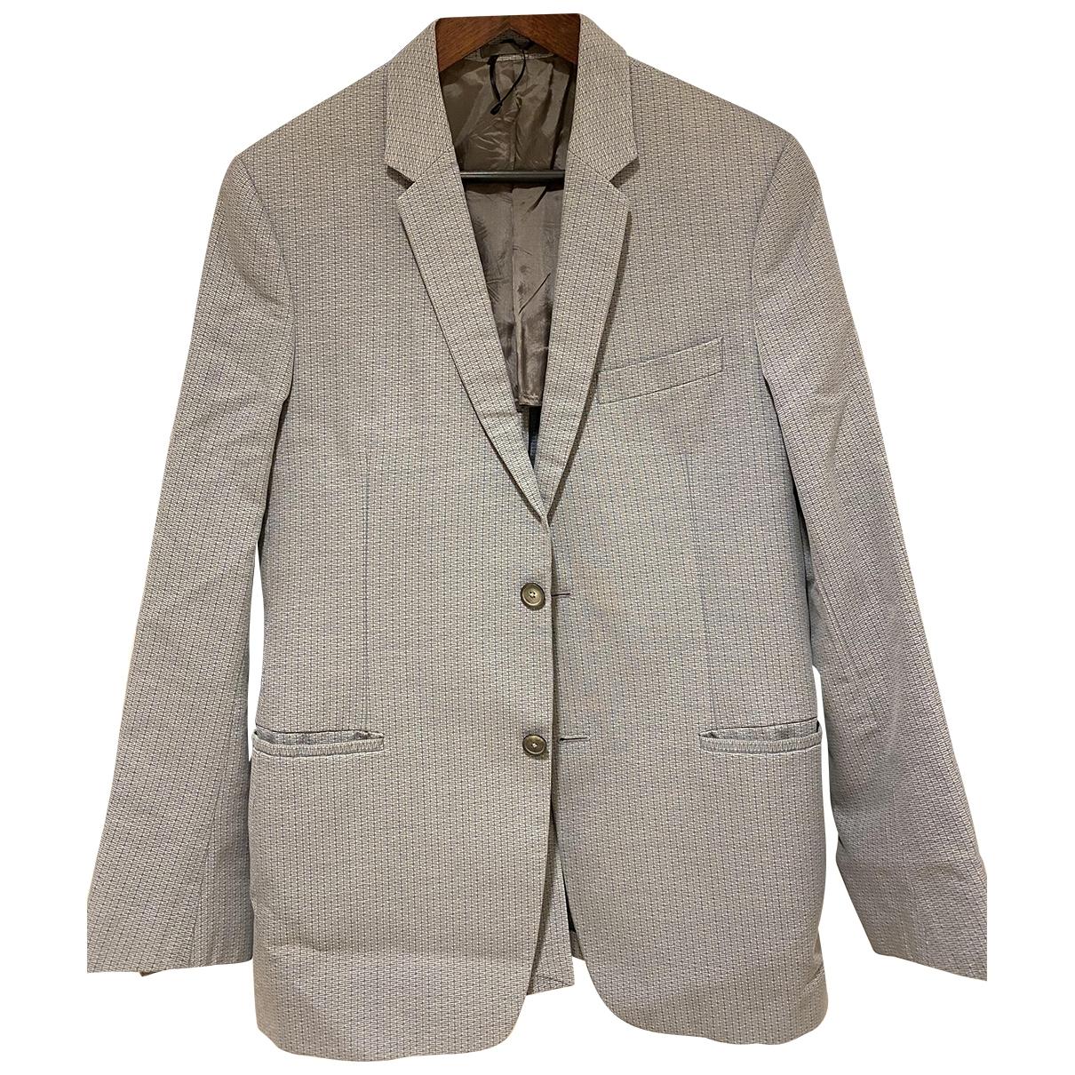 Jil Sander \N Blue Cotton Suits for Men 52 IT