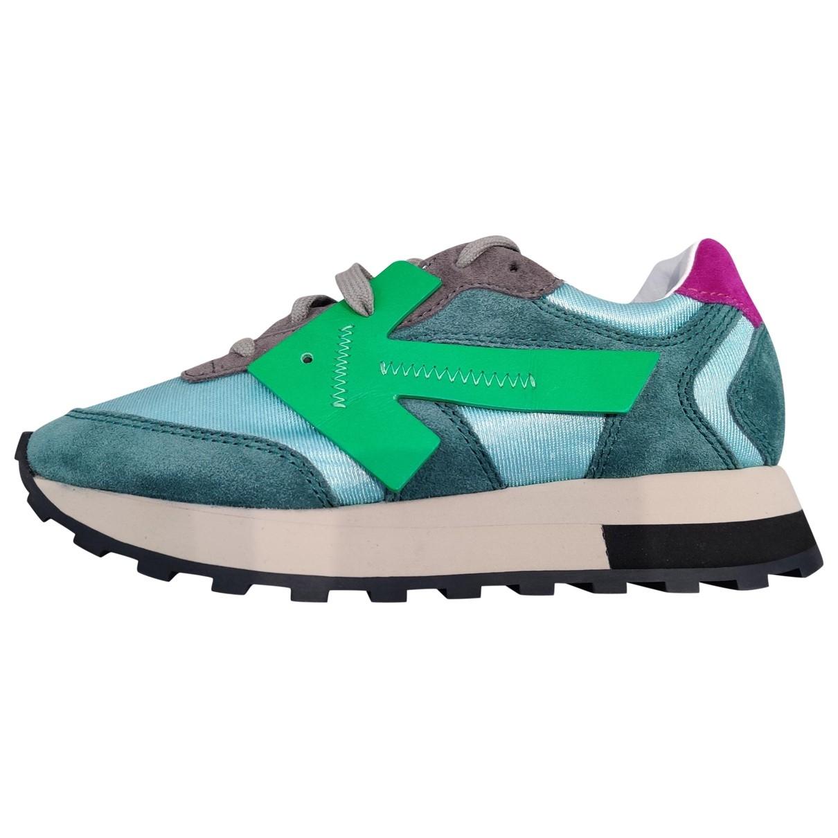 Off-white Runner Sneakers in Leder