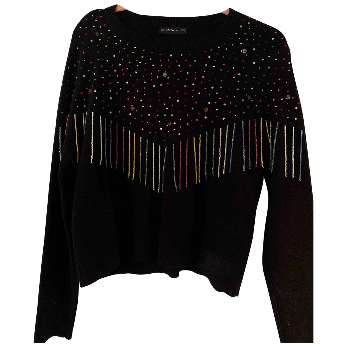 Zara \N Navy Wool Knitwear for Women L International