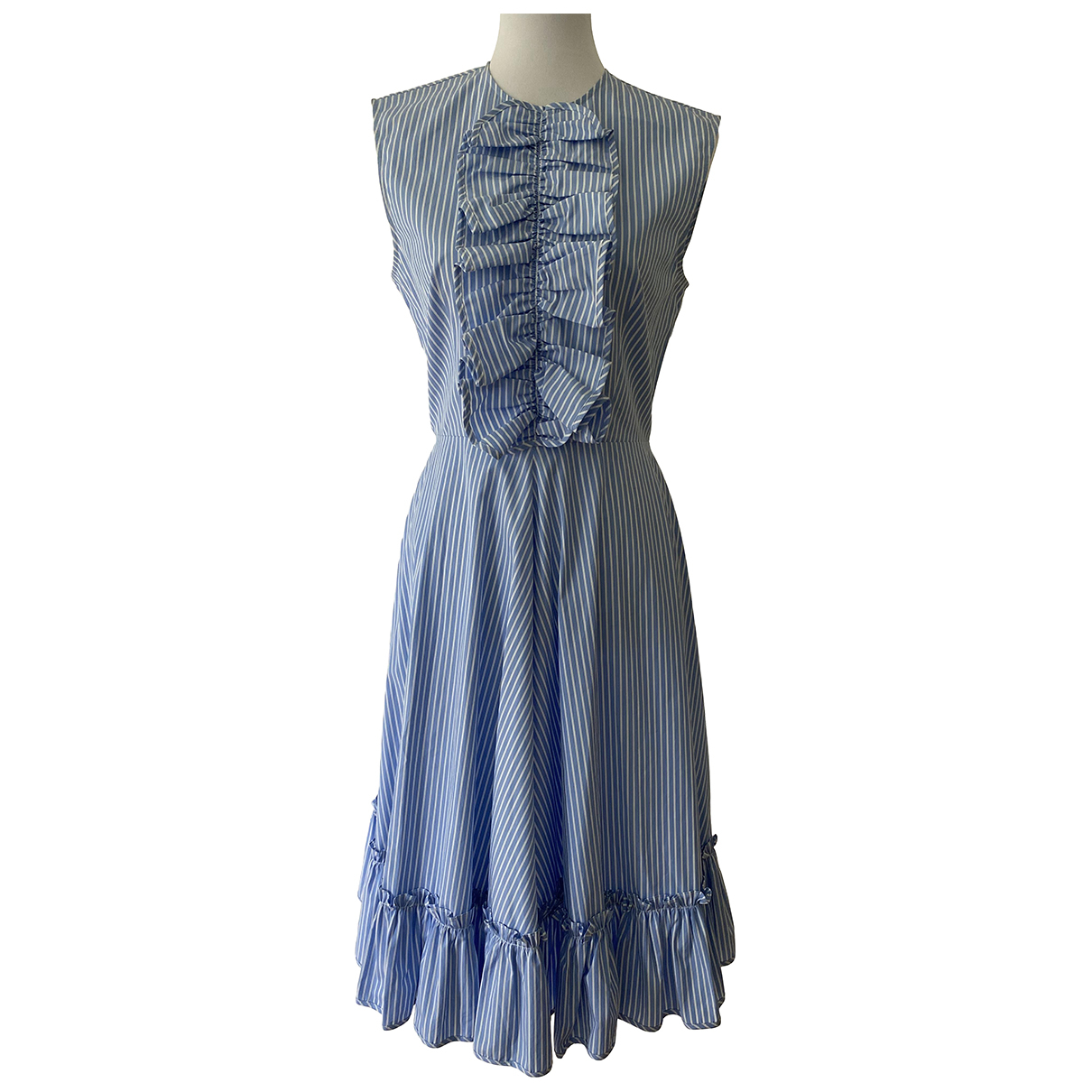J.w. Anderson \N Blue Cotton dress for Women 8 US