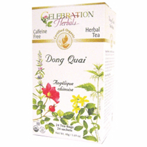 Organic Dong Quai Tea 24 Bags by Celebration Herbals