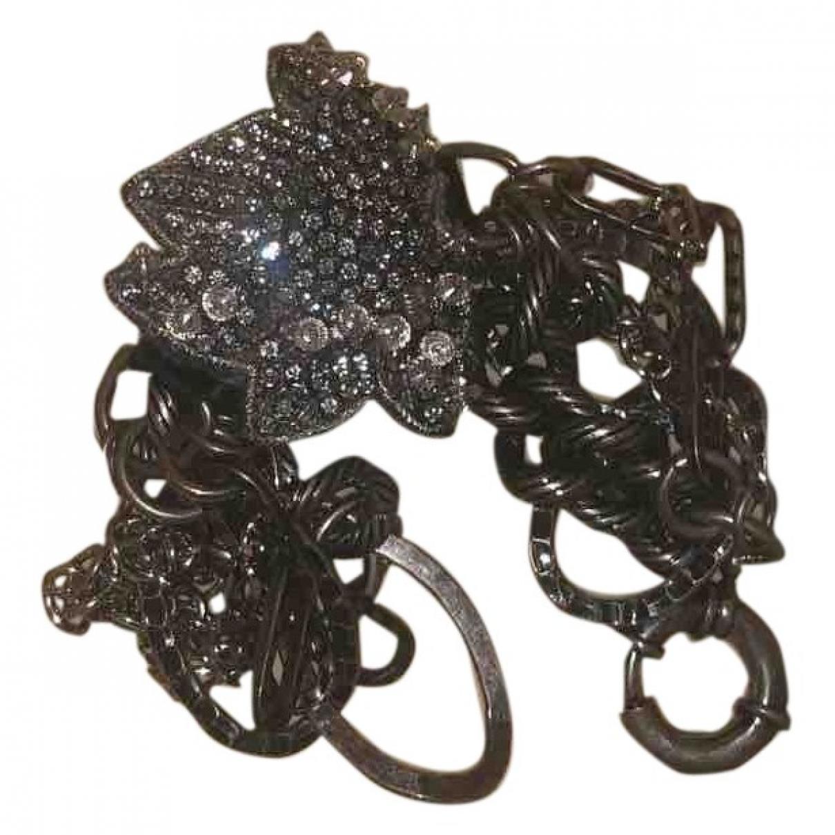 Fendi - Bracelet The Fendista pour femme en chaine - argente