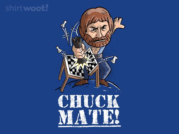 Chuck Mate T Shirt