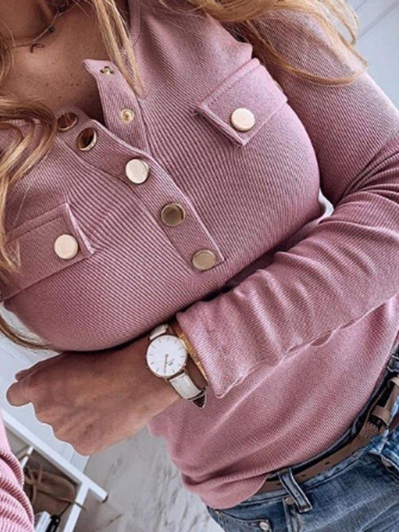 Ericdress Batwing Sleeve Button Loose Summer Sweater