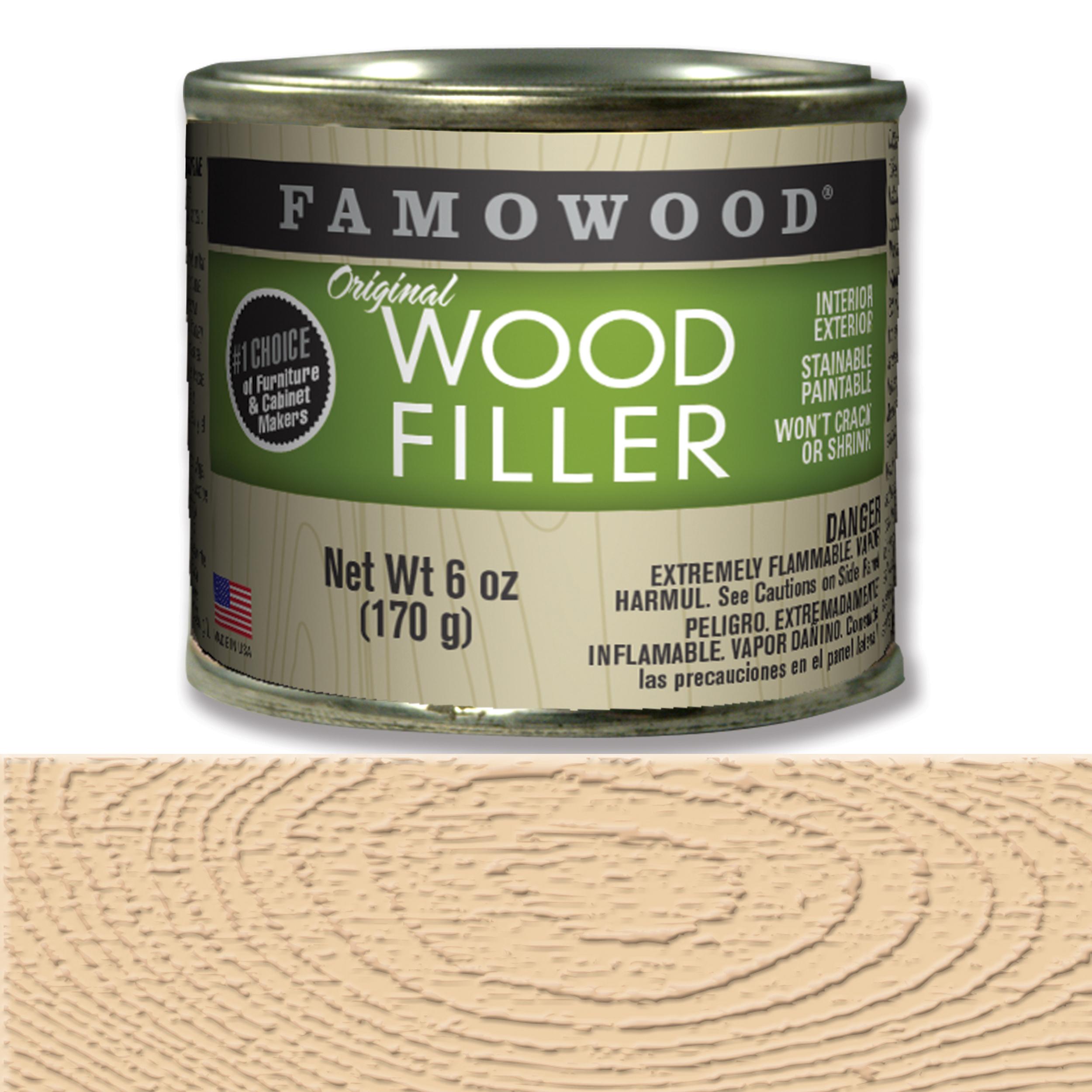 Birch Wood Filler Solvent Based 6 oz