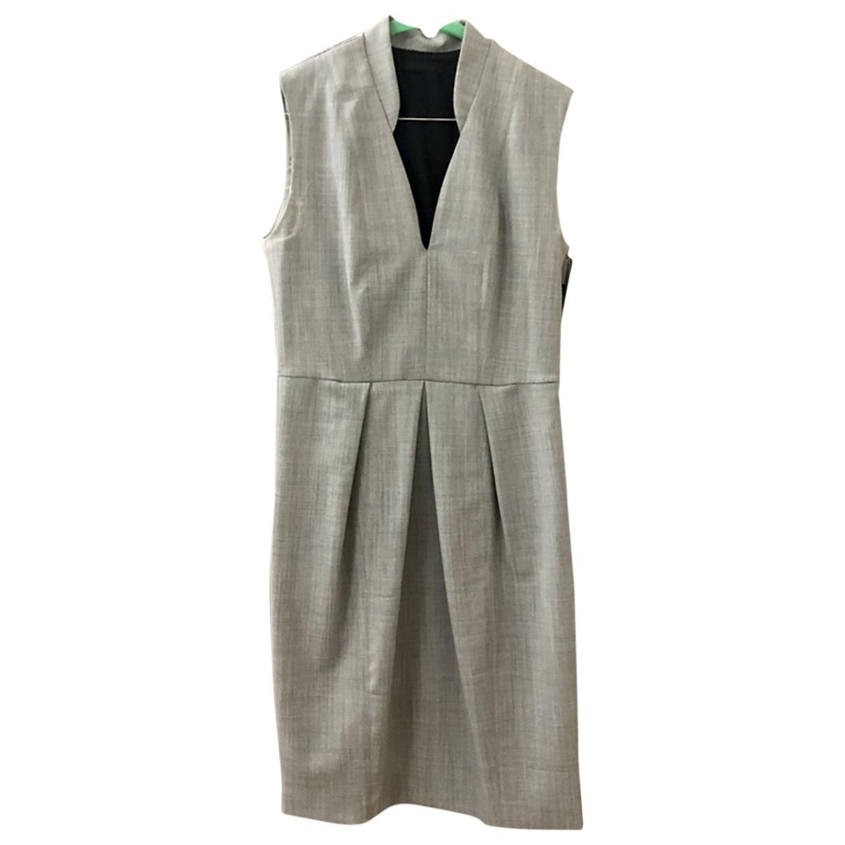 Pinko \N Grey Wool dress for Women 12 UK