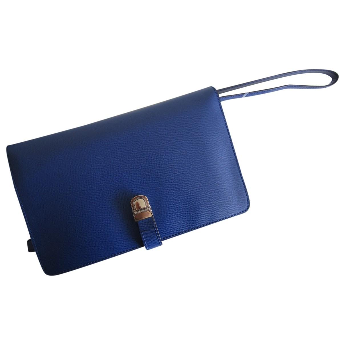 Giorgio Armani - Petite maroquinerie   pour homme en cuir - bleu