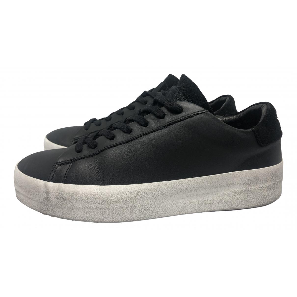 All Saints \N Sneakers in  Schwarz Leder