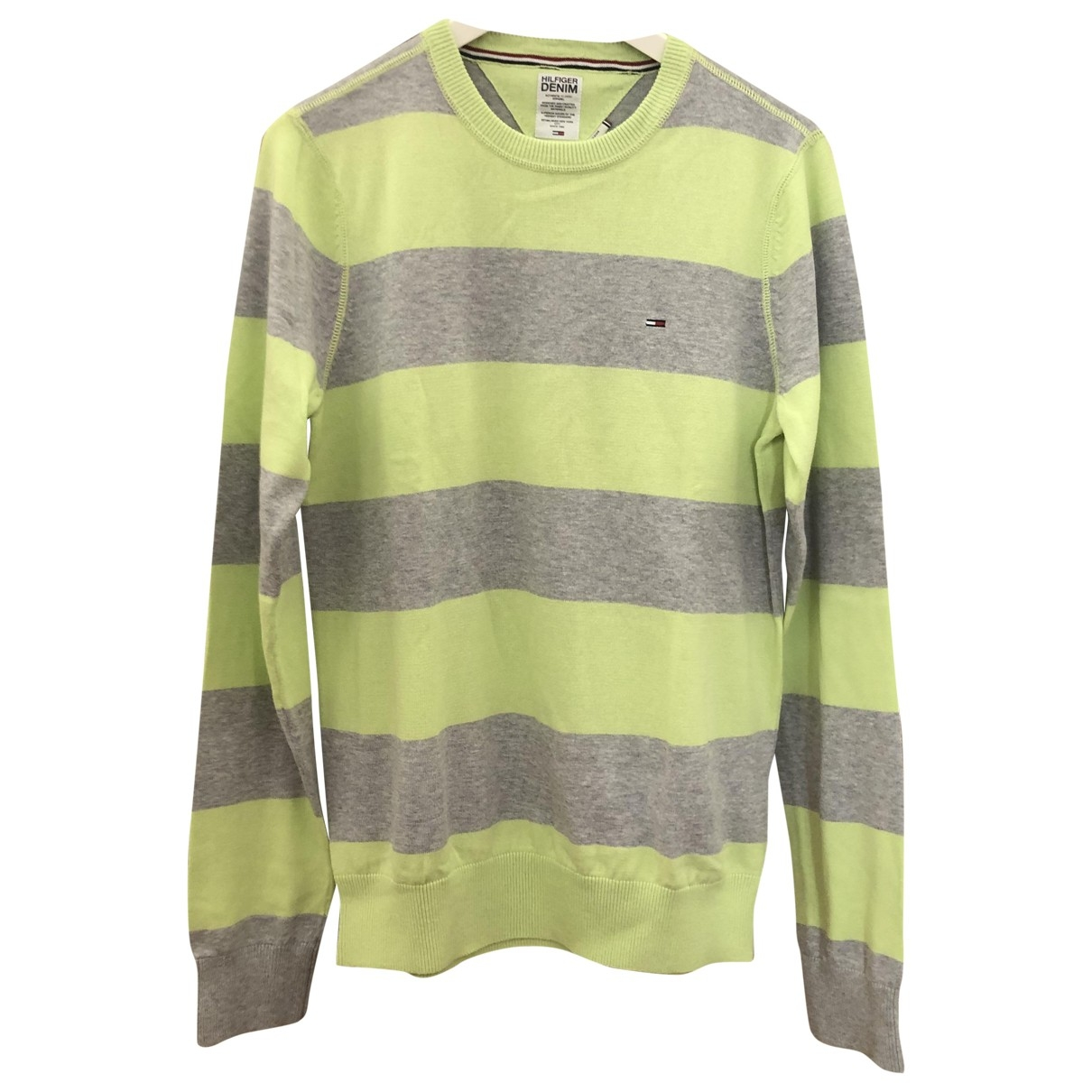 Tommy Hilfiger \N Green Cotton Knitwear & Sweatshirts for Men M International