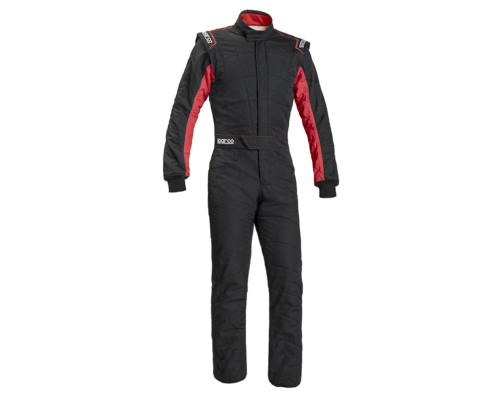 Sparco 001040X358NRRS Sprint RS2.1 BC Suit 58 Black/Red