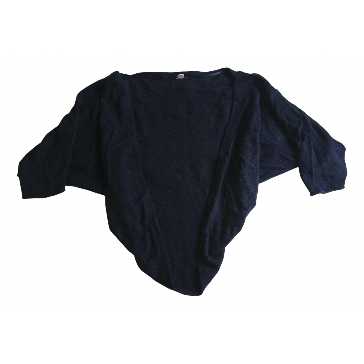 Jigsaw - Pull   pour femme en laine - marine