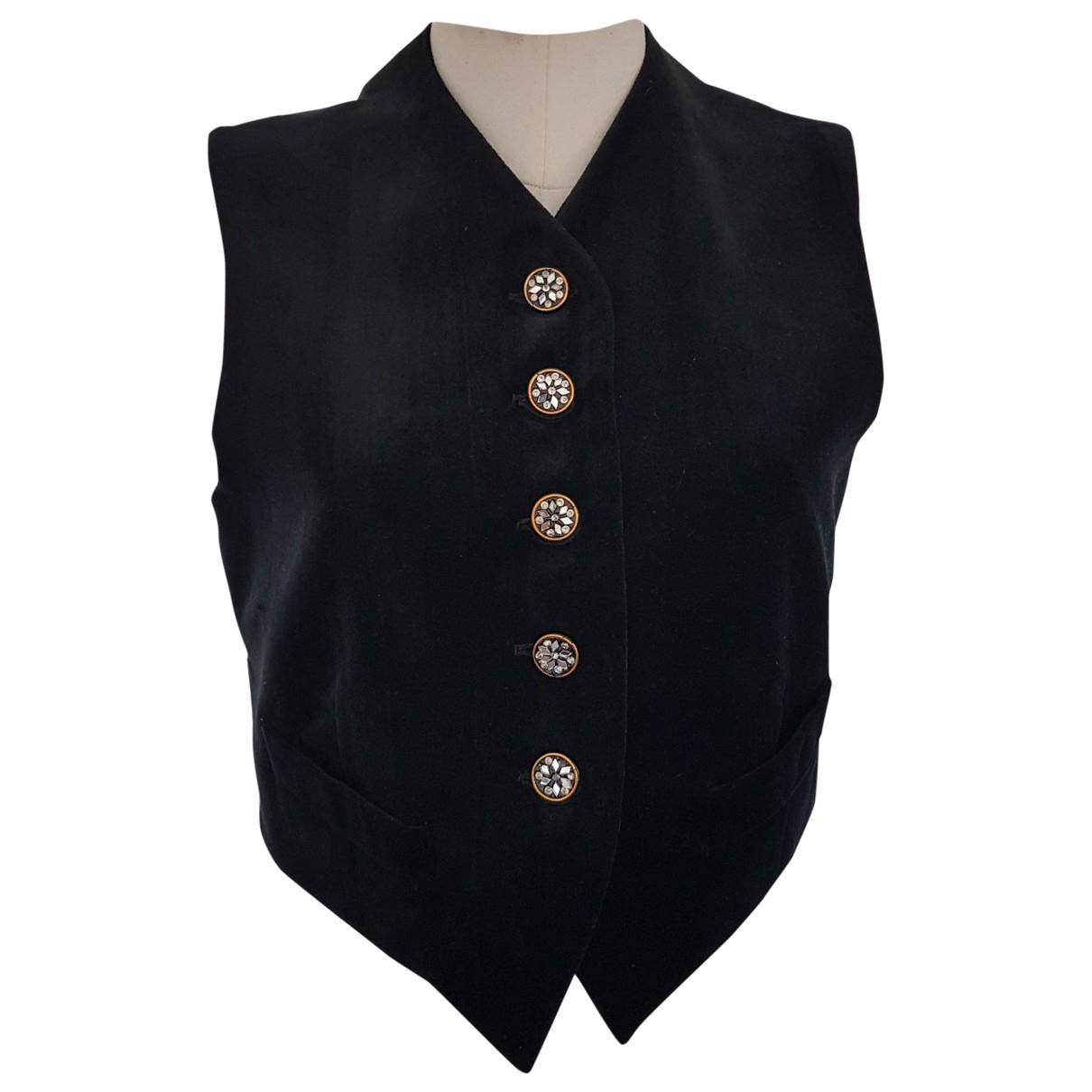 Romeo Gigli \N Pullover in  Schwarz Baumwolle