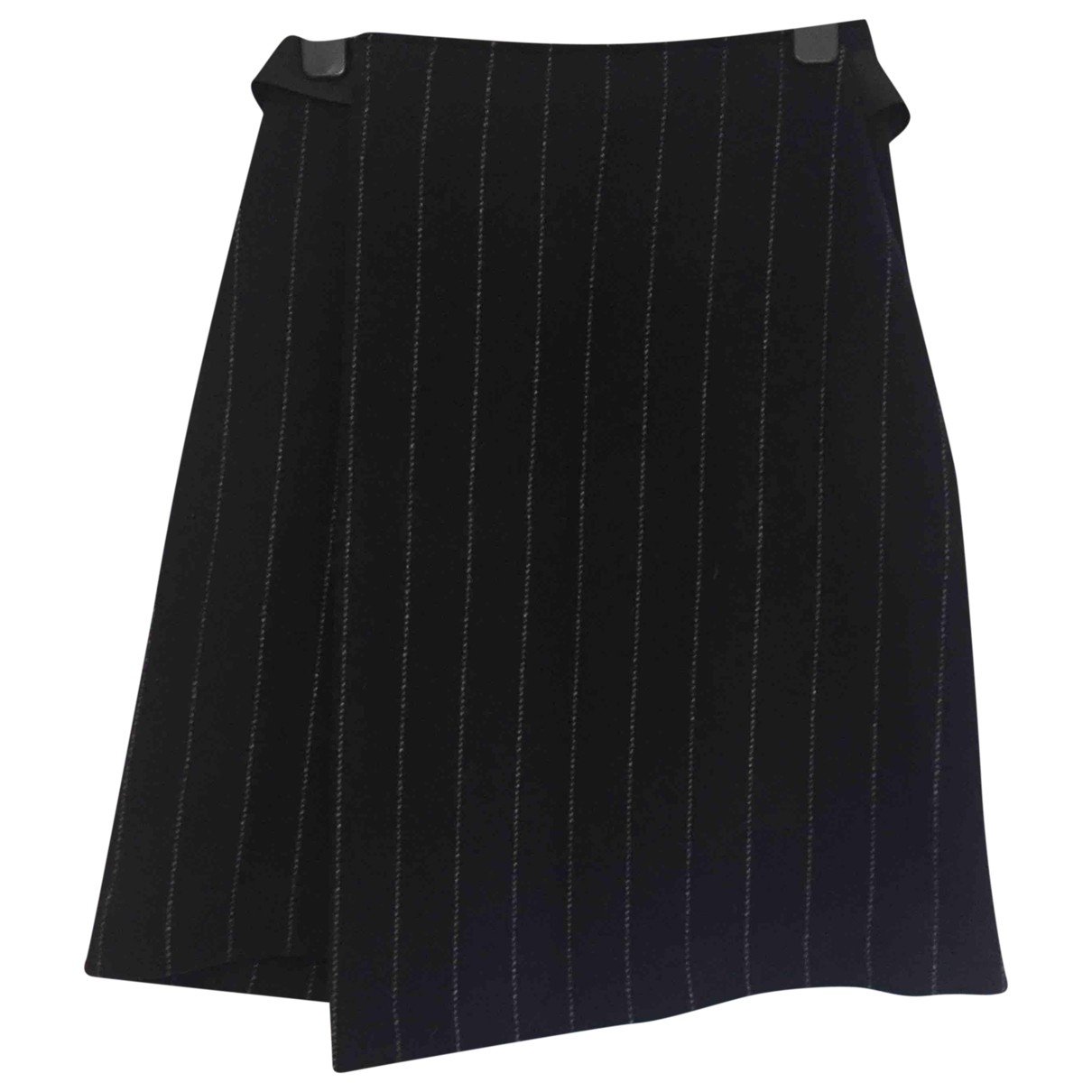 Maje N Navy Wool skirt for Women 36 FR