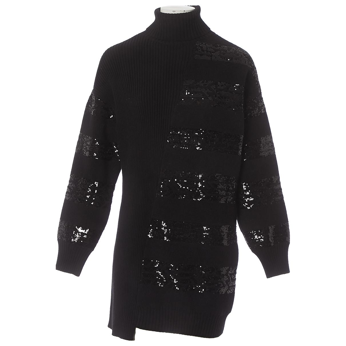 Louis Vuitton N Black Wool dress for Women M International