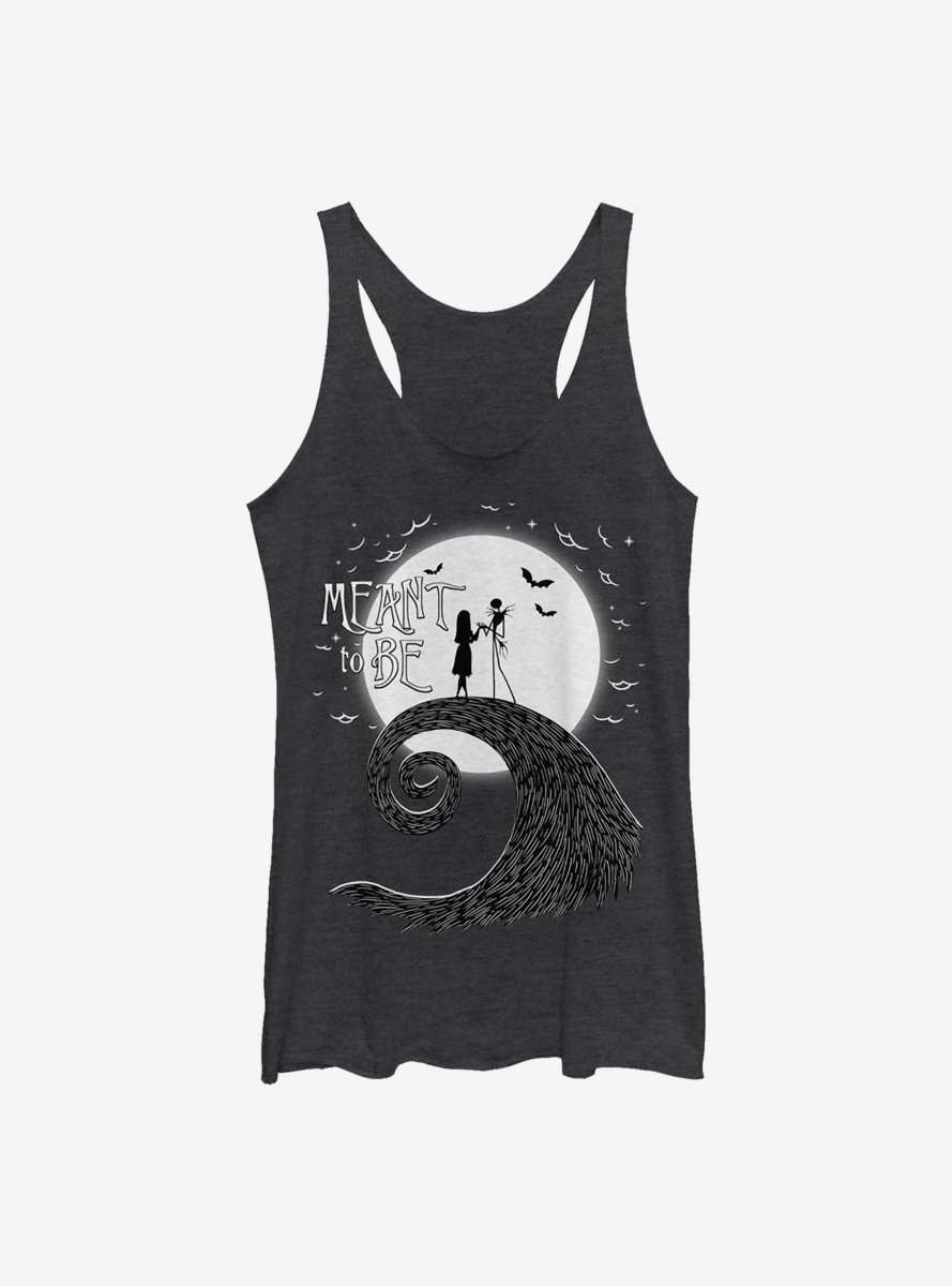 Disney The Nightmare Before Christmas Meant To Be Womens Tank Top
