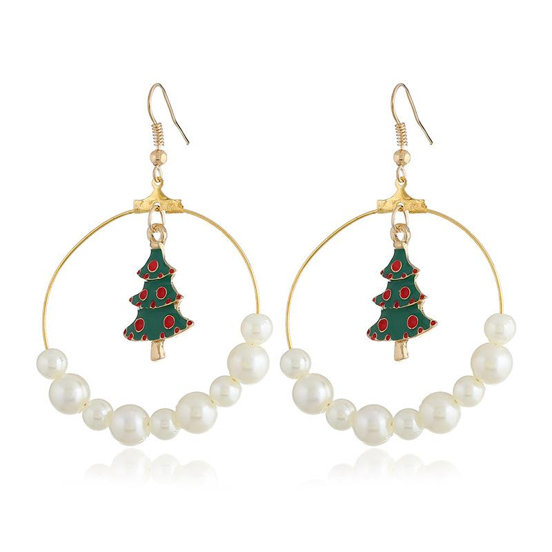 Various Styles of Christmas Series Earrings Pendant