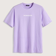 Guys Letter Graphic Top