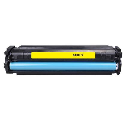 Compatible Canon 045H 1243C001 Yellow Toner Cartridge High Yield - Economical Box