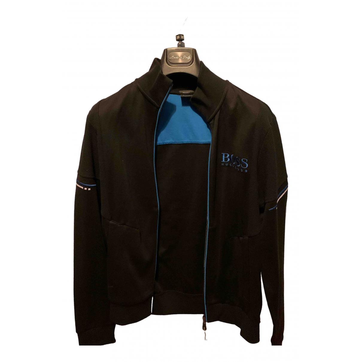 Boss \N Black Cotton jacket  for Men S International