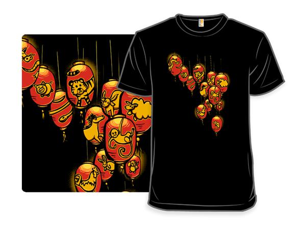 Lantern Lights T Shirt