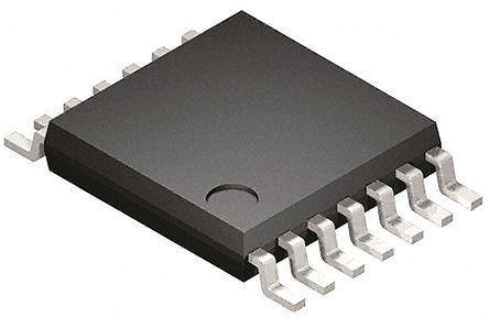 DiodesZetex 74LV06AT14-13, , Hex Schmitt Trigger, Open Drain CMOS Inverter, 14-Pin TSSOP (50)