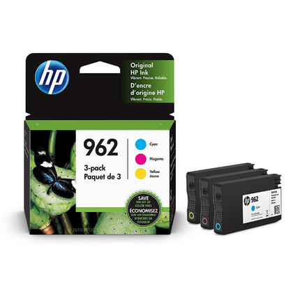 HP 962 3YP00AN Original Ink Cartridge Combo C/M/Y