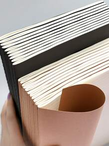 1pack Plain Cover Random Notebook