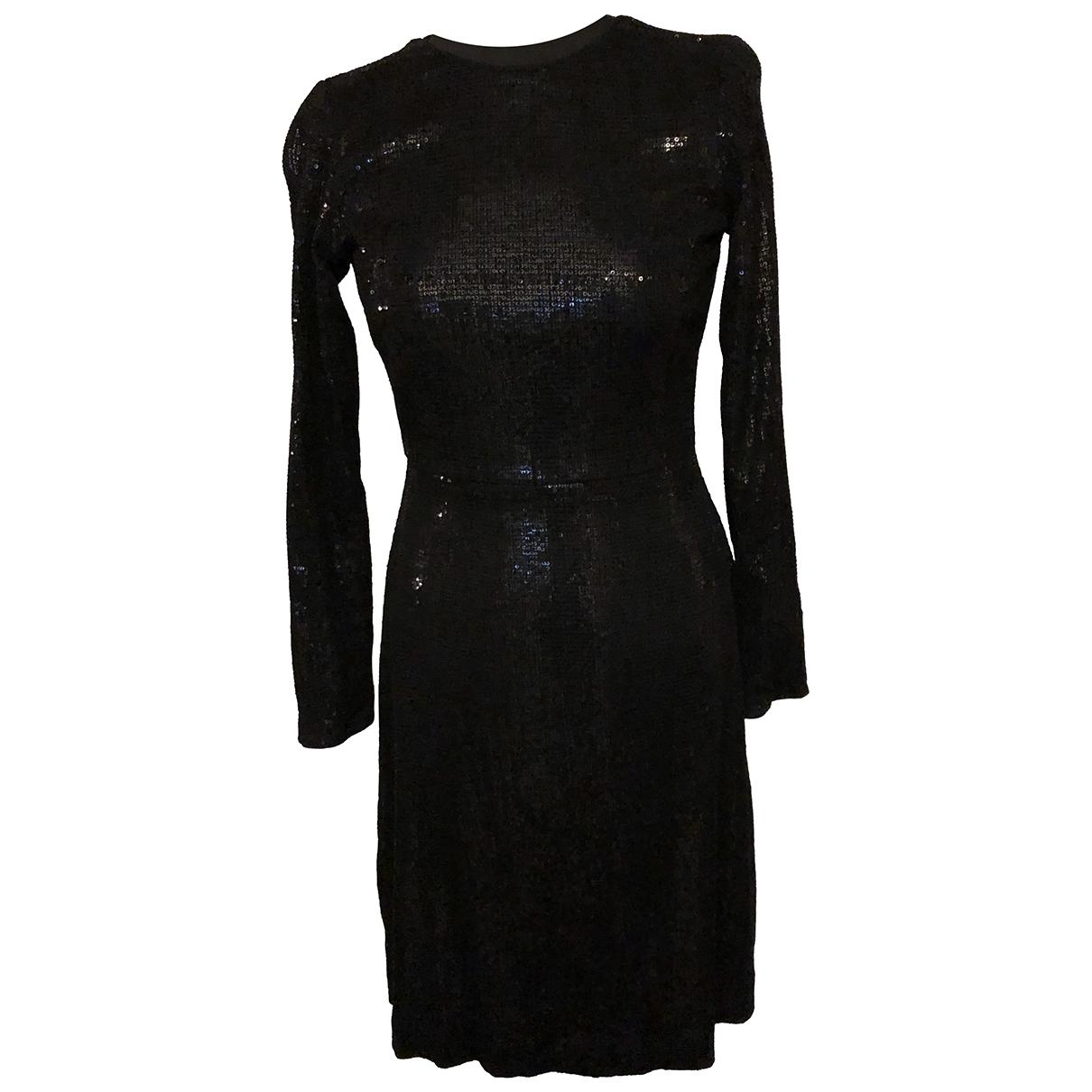 Jigsaw \N Kleid in  Schwarz Baumwolle - Elasthan