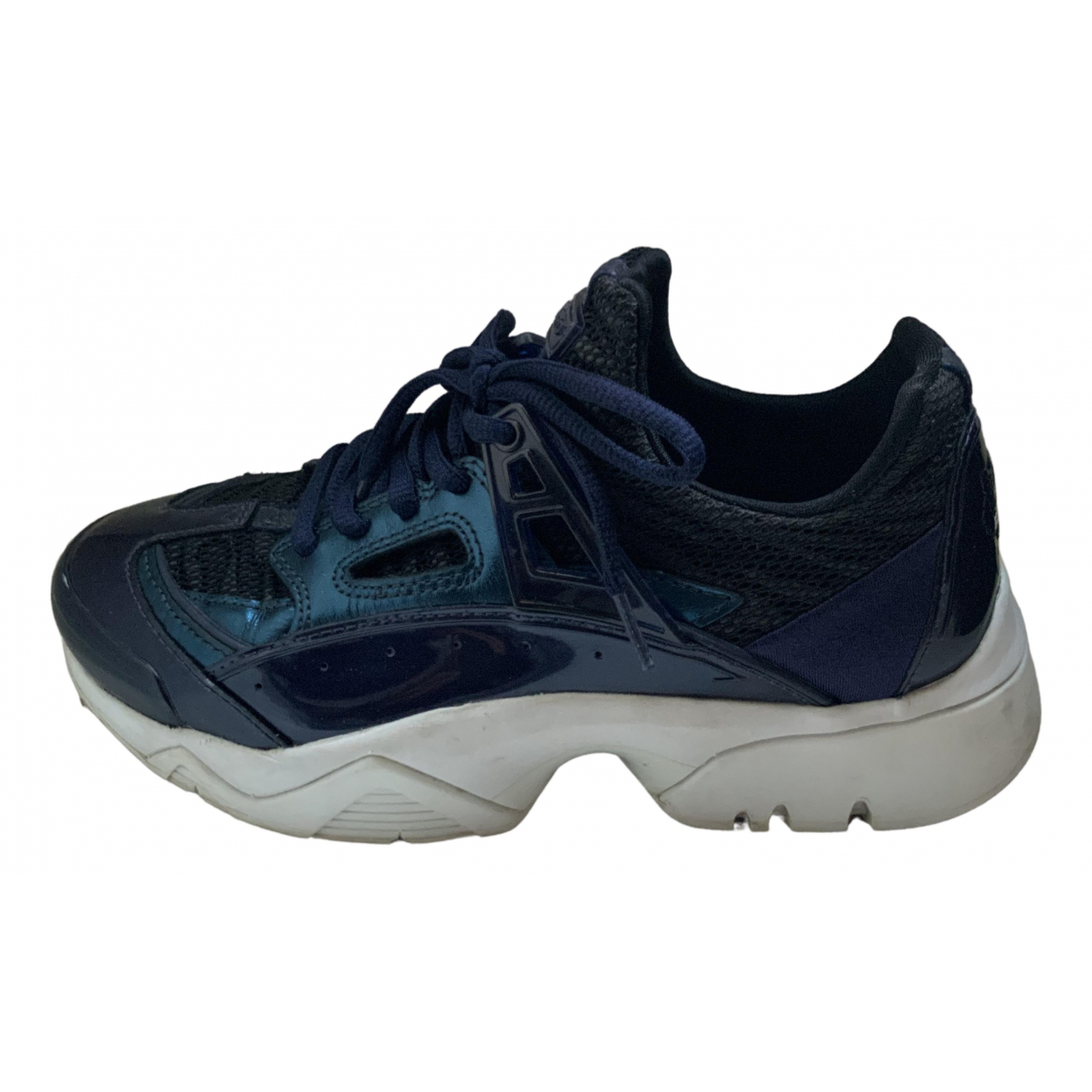 Kenzo \N Blue Patent leather Trainers for Women 35 EU