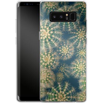 Samsung Galaxy Note 8 Silikon Handyhuelle - Kingwood Cactus von Joy StClaire