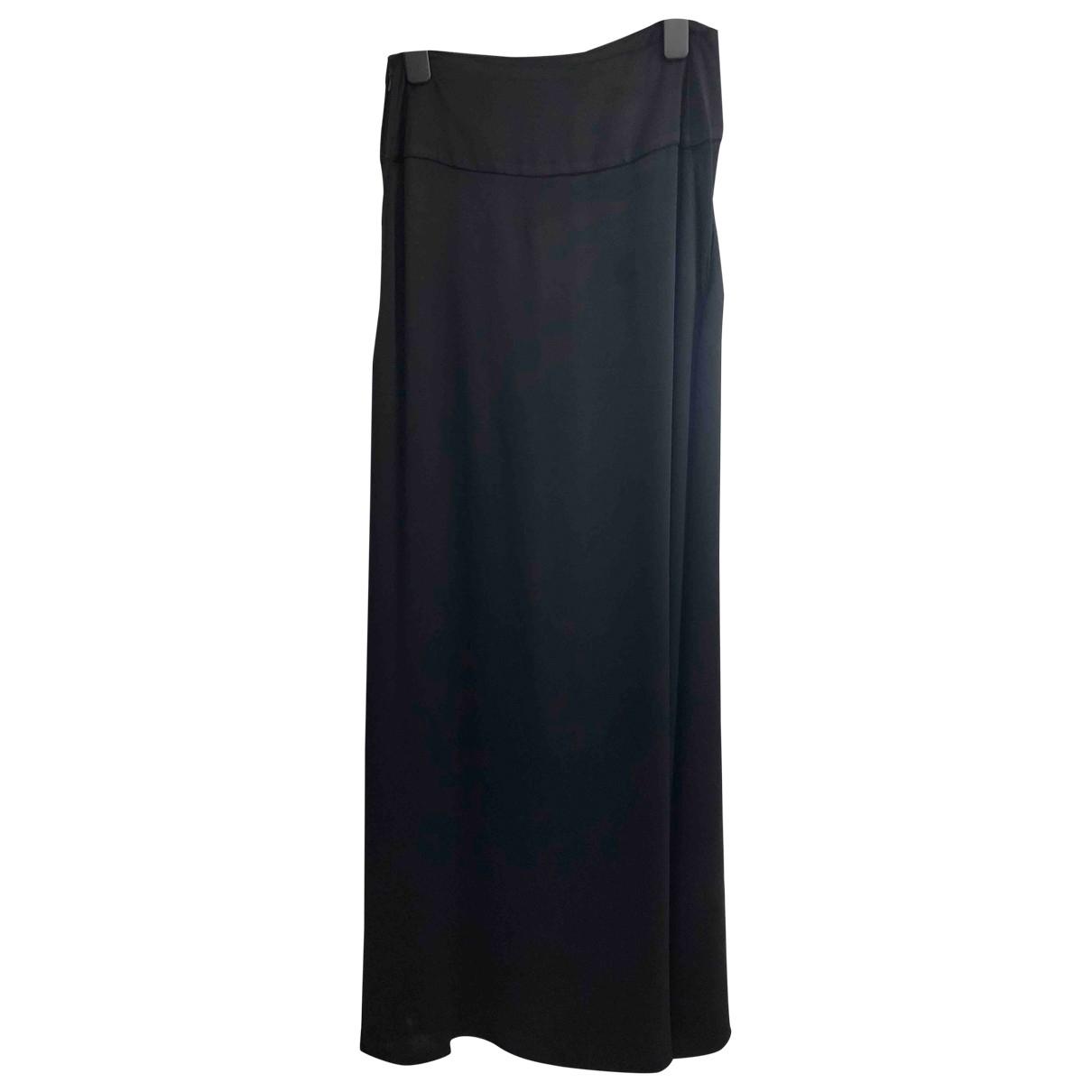 Vionnet - Jupe   pour femme en soie - noir
