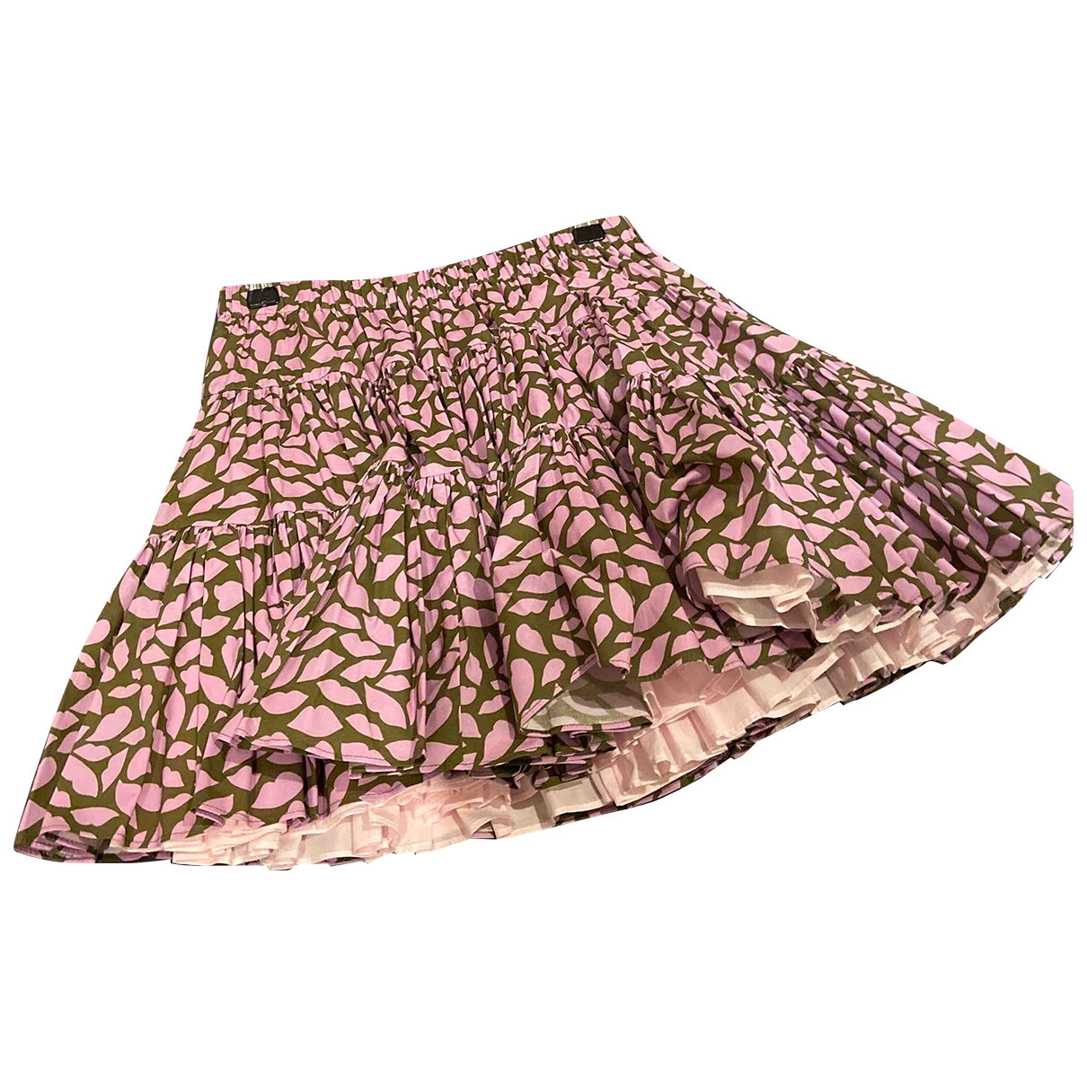Red Valentino Garavani - Jupe   pour femme en coton - rose