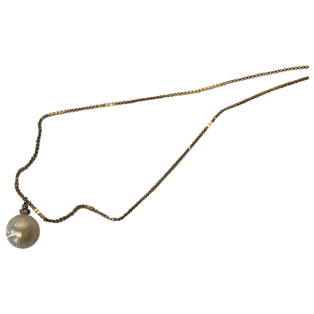 Mm6 \N Halskette in  Gold Perle