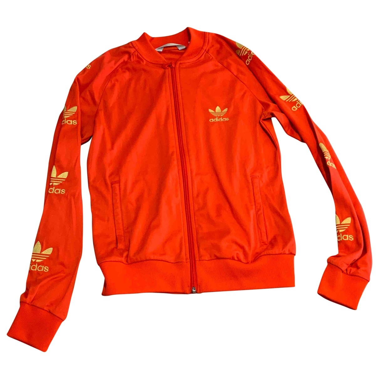 Adidas \N Jacke in  Orange Polyester