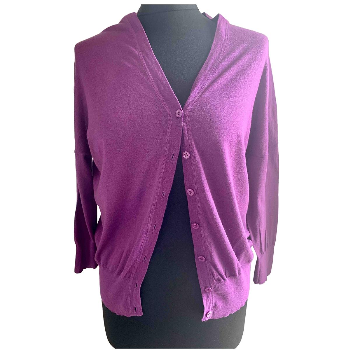 Strenesse \N Purple Cotton Knitwear for Women 36 FR