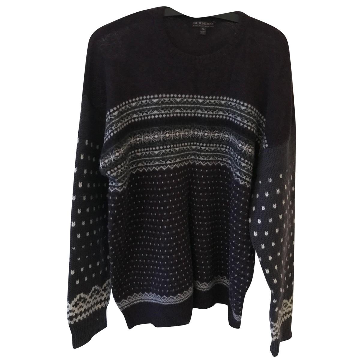 Burberry - Pulls.Gilets.Sweats   pour homme en laine - violet