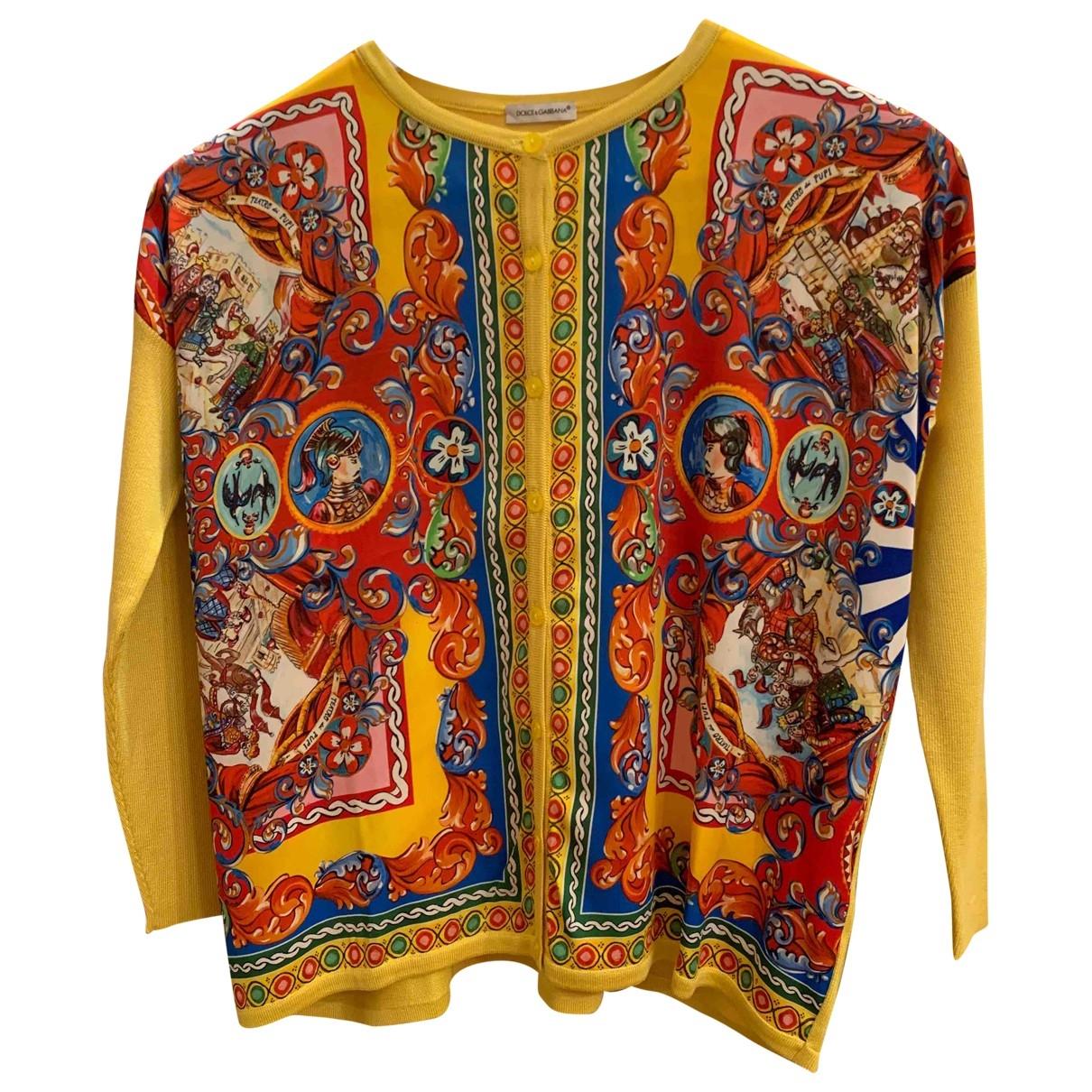 Chaqueta de punto de Seda Dolce & Gabbana
