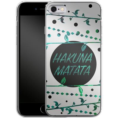 Apple iPhone 6s Silikon Handyhuelle - Hakuna Matata von Statements