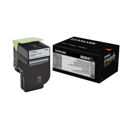 Lexmark 800H1 80C0H10 cartouche de toner originale noire haute capacité