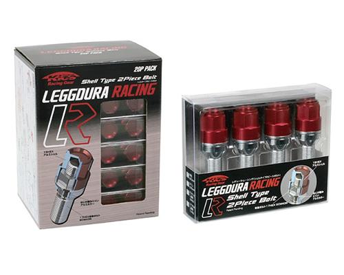 Project Kics Leggdura Blue M14x1.5 35mm Shell Type Bolt & Lock Set