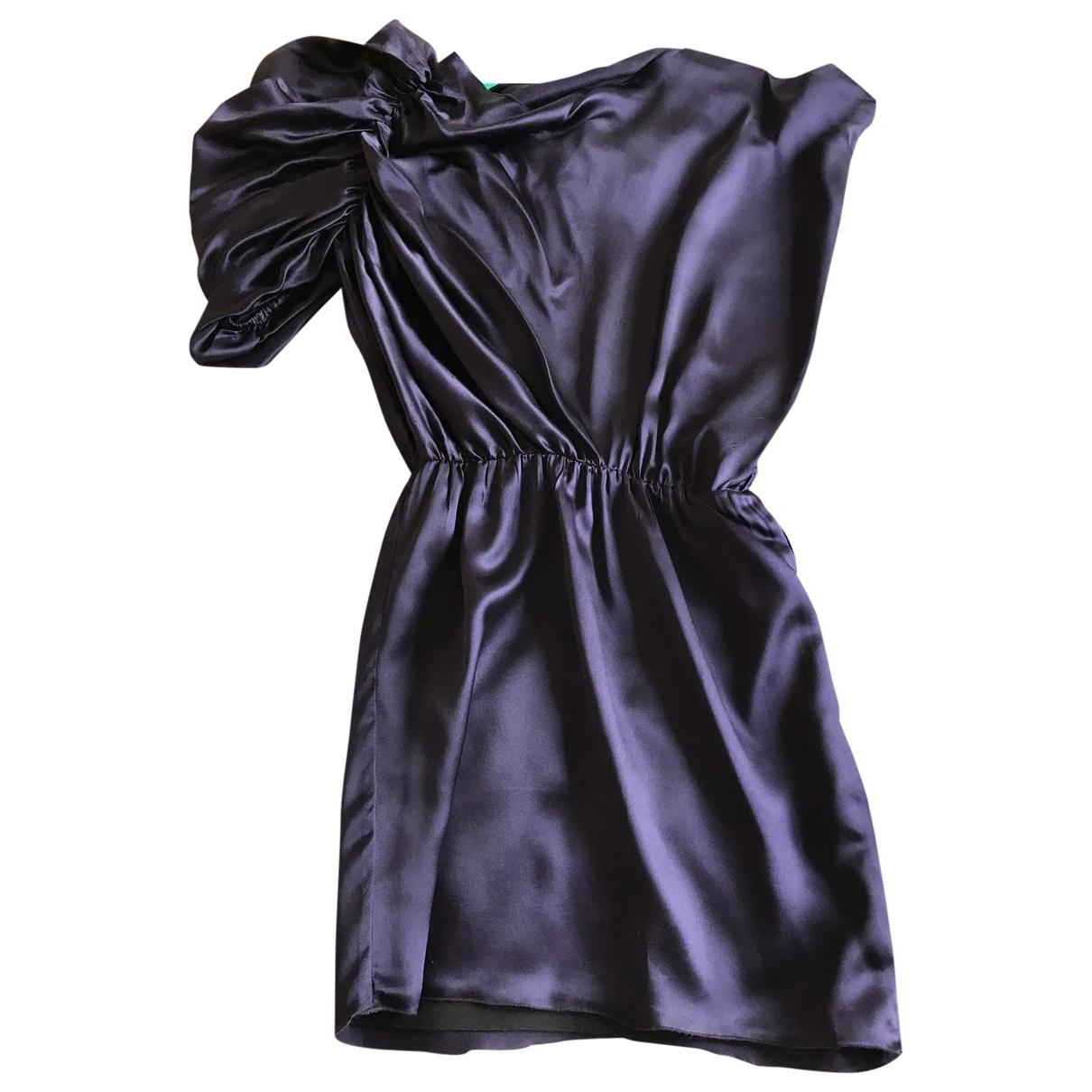 Lanvin \N Kleid in  Lila Seide